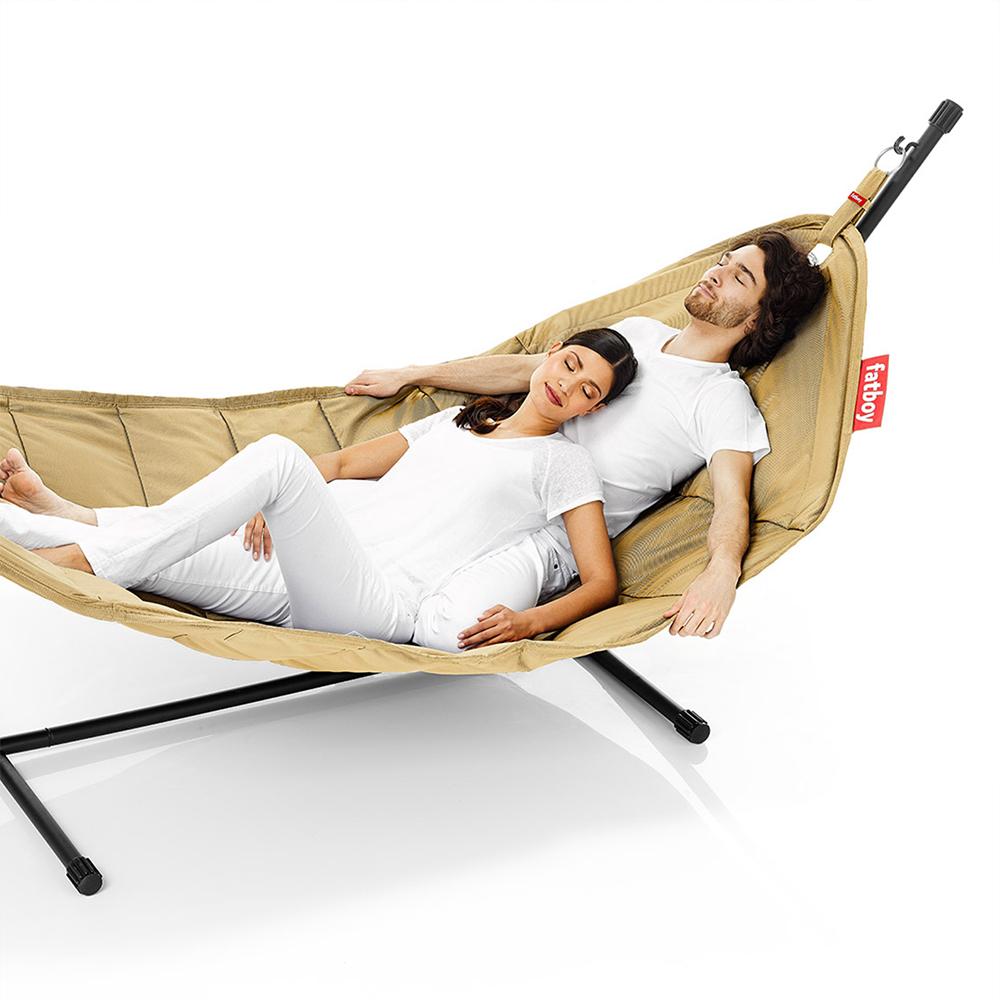 headdemock h ngematte f r eine zwei oder drei personen fatboy h ngematte. Black Bedroom Furniture Sets. Home Design Ideas