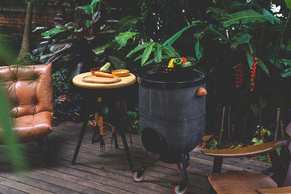 Noori Ofen, Grill, Feuerstelle