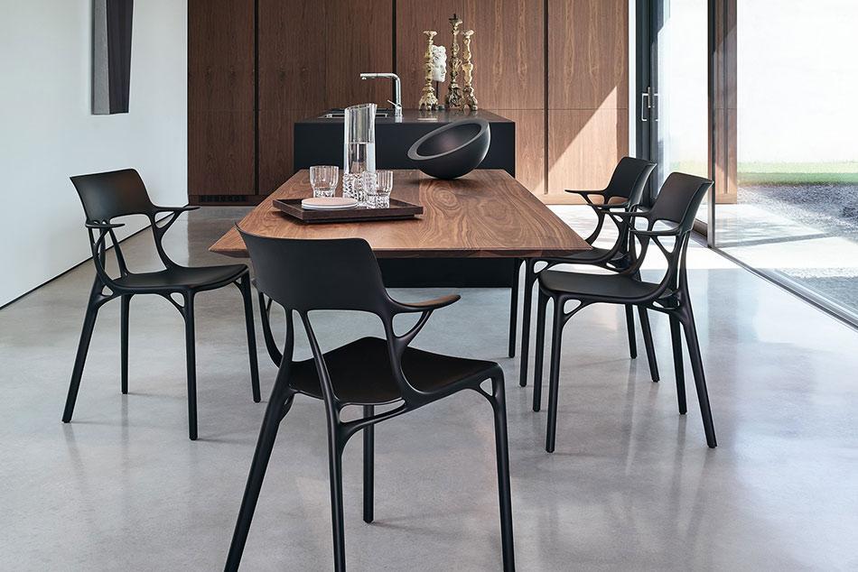 Star Design Philippe Starck läßt Künstliche Intelligenz Designstuhl entwerfen
