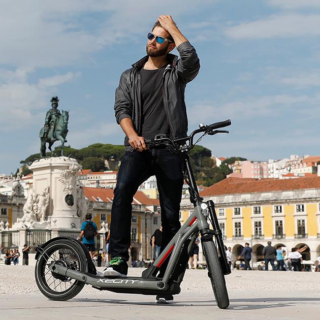 BMW Motorrad X2City – überall schnell unterwegs in der Stadt