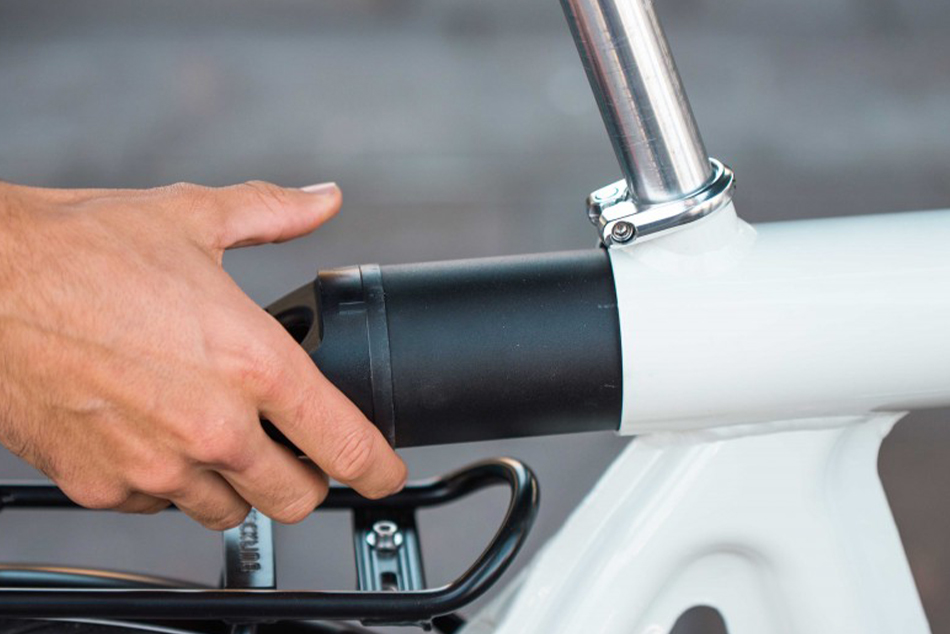 pressed bike - E-Bike von Leaos