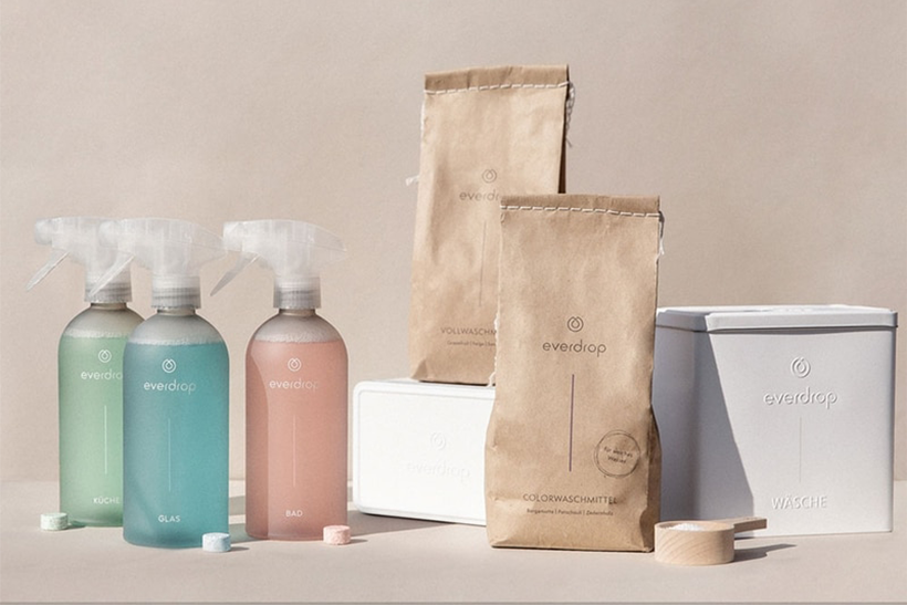 Drei umweltfreundliche und nachhaltige Reinigungsmittel - ohne Plastik