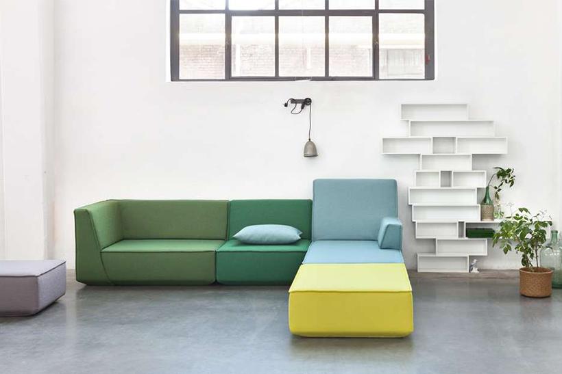 Modulares Sofa Cubit macht Spaß!