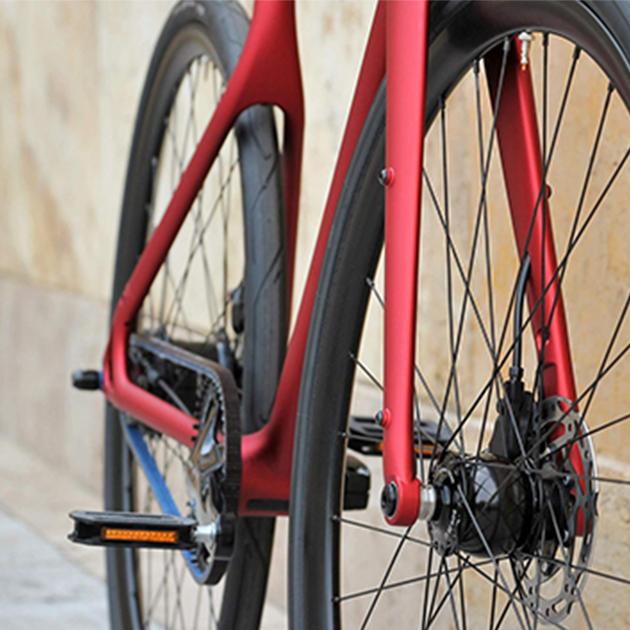 Stadtfuchs – Fahrrad für den uneingeschränkten Stadteinsatz