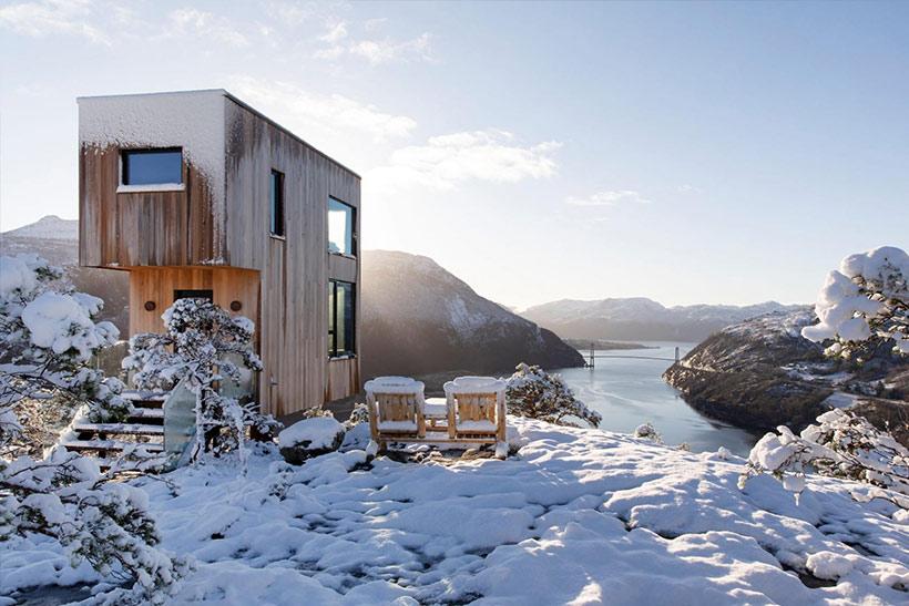 Bolder Sky Lodge - designed für eine achtsame Auszeit in der norwegischen Natur