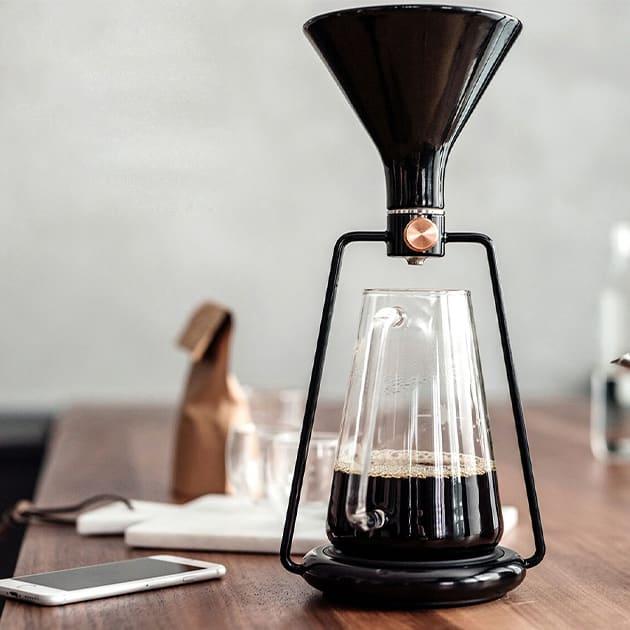 Der smarte Gina Kaffeebereiter mit Bluetooth