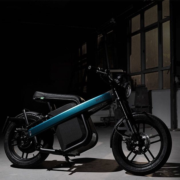 Brekr Model B – Das futuristische und leistungsstarke E-Moped