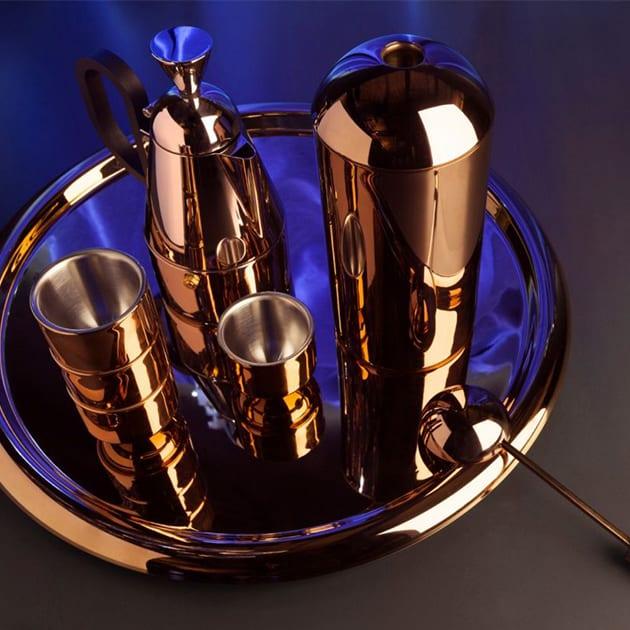 Kaffeedose Brew in Kupfer von Tom Dixon