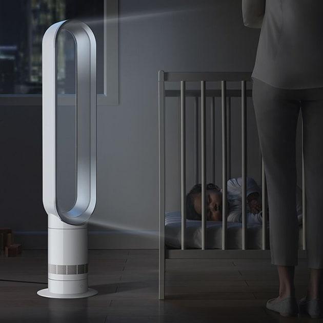 Dyson Cool AM07 Turmventilator – Energieeffizienter Ventilator mit Sleep-Timer Funktion