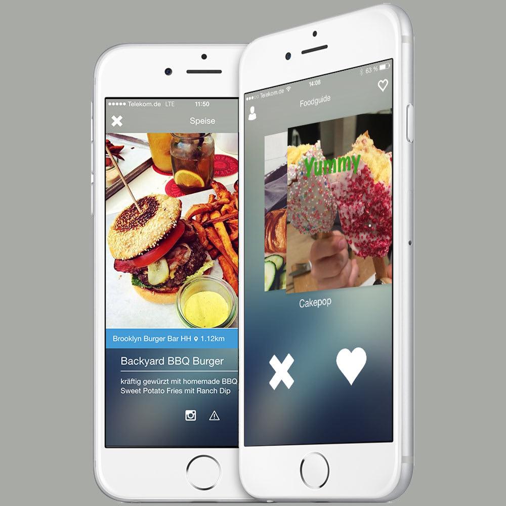 Foodguide App – Tinder für Restaurants