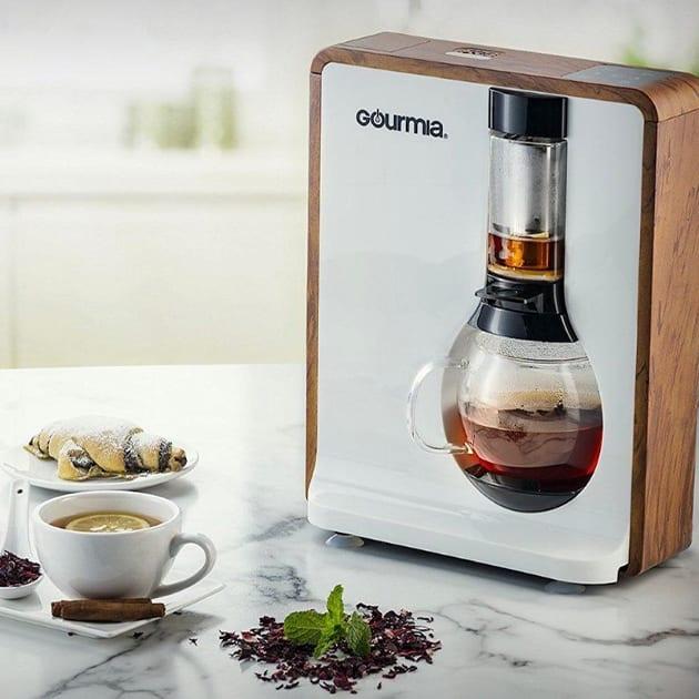 Gourmia Tea Square – bereitet persönlichen Tee & Kaffee zu