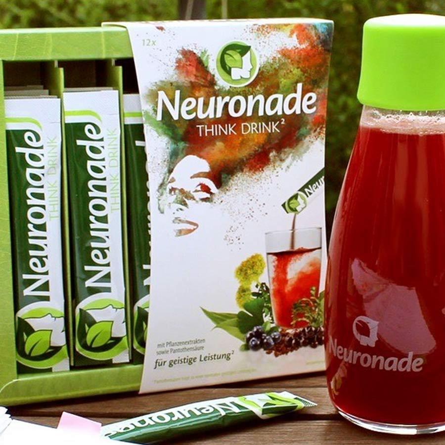Neuronade  das Getränkepulver – Think Drink