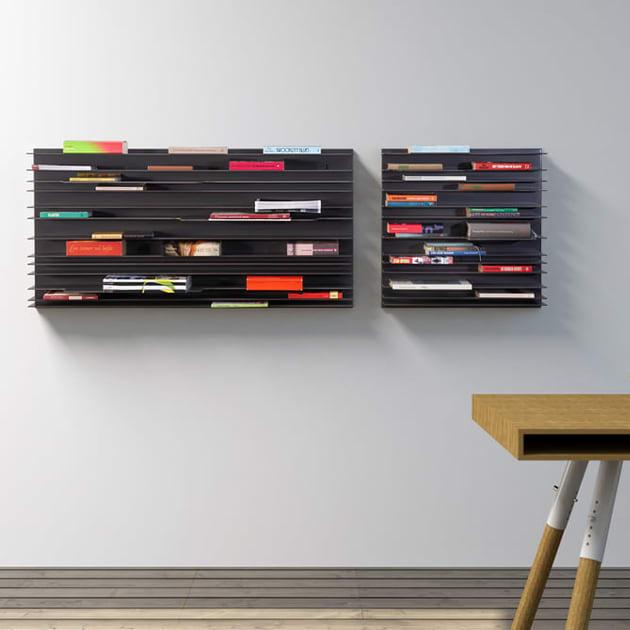 Paperback Regalsystem von spectrum – platzsparend