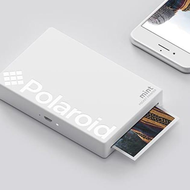 Polaroid Mint: Taschendrucker mit Zink-Papier
