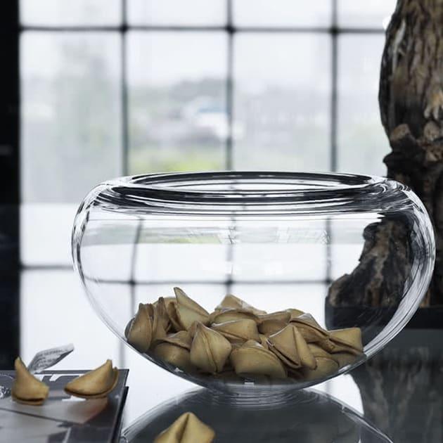 Individuelle und zeitlose Provence Glasschale von Holmegaard