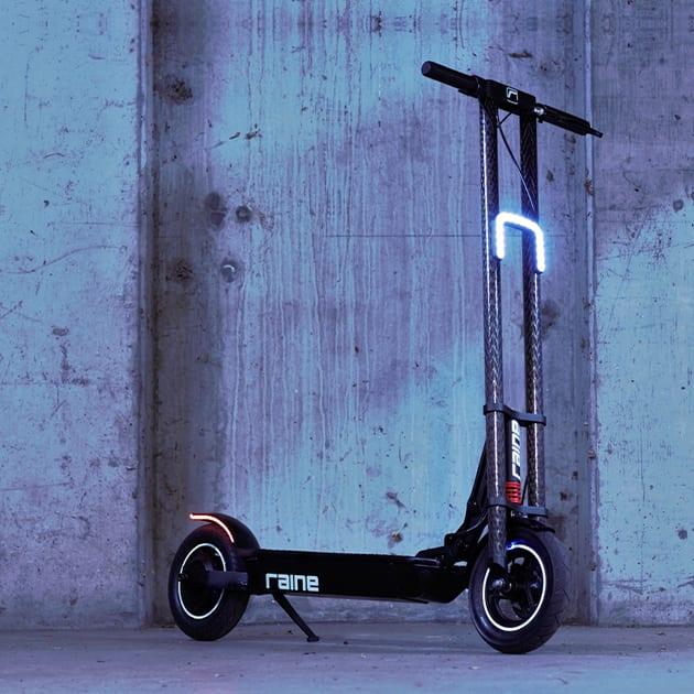 Raine One E-Scooter designed in Australien