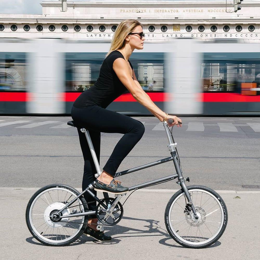 Klappbares Faltrad und E-Bike von Vello