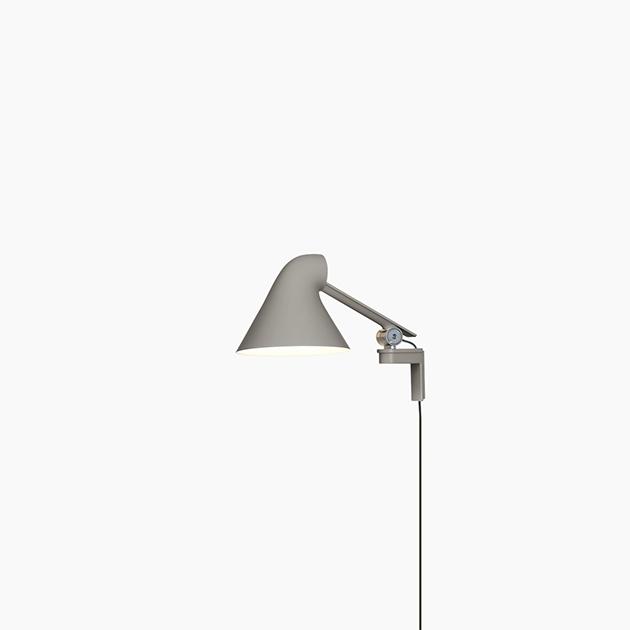 Gelenkige LED-Wandleuchte NJP von Louis Poulsen für dekorative oder entspannte Beleuchtung