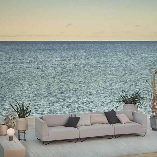 Orlando Outdoor Sofa von bolia – flexibel zusammenstellbar