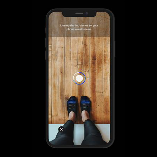 Nike App scannt mithilfe von AR und AI die Füße nach perfekter Passform