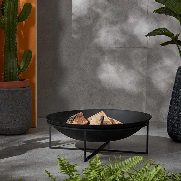 Josper elegante Feuerschale für laue Sommer-und kühle Abende